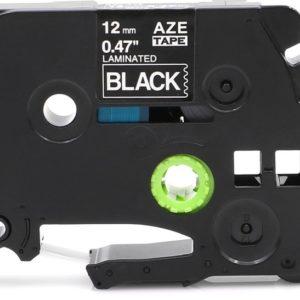 Taśma AZe-335 czarna/ biały nadruk