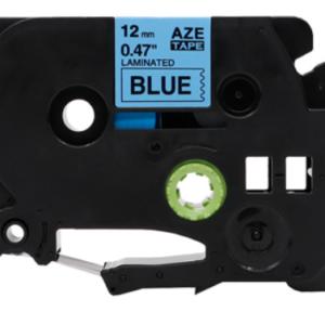 Taśma AZe-531 niebieska/ czarny nadruk