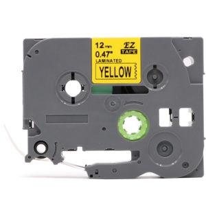 Taśma AZe-631 żółta/ czarny nadruk