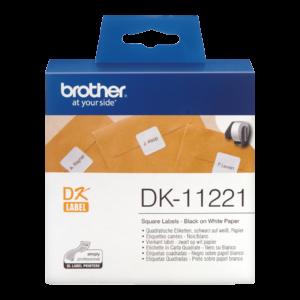 Etykieta DK-11221 (23 x 23mm)