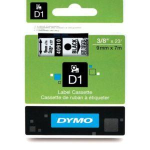 Taśma Dymo 40910 przezroczysta/czarny nadruk