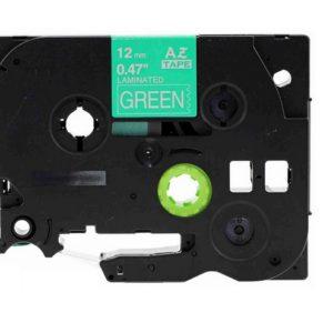 Taśma AZe-735 zielona/ biały nadruk