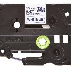 Taśma TZe-FA3 biała/ niebieski nadruk