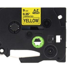 Taśma AZe-621 zamiennik Brother TZe-621 żółta/ czarny nadruk