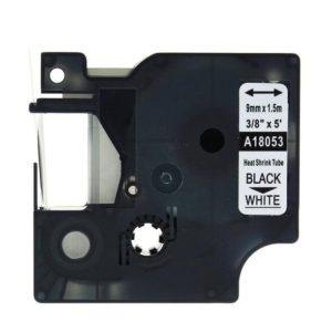 Taśma termokurczliwa 18053 (s0718280) biała/czarny nadruk