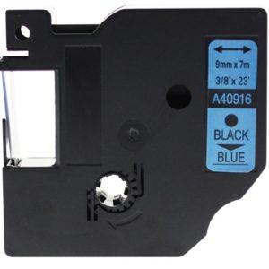 Taśma 40916 (s0720710) niebieska/czarny nadruk