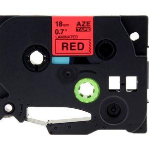 Taśma AZe-441 zamiennik Brother TZe-441 czerwona/ czarny nadruk