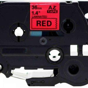 Taśma AZe-461 czerwona/ czarny nadruk