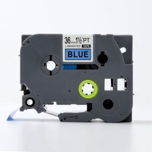 Taśma AZe-561 niebieska/ czarny nadruk