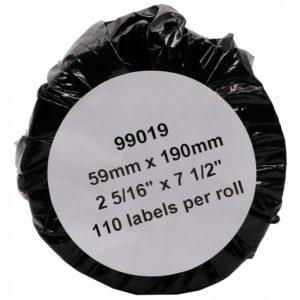 Etykieta zamiennik Dymo 99019 (59 x 190mm)