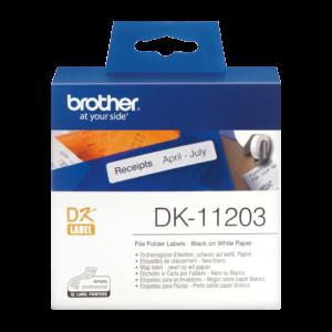 Etykieta DK-11203 ; DK11203 (17 x 87mm)
