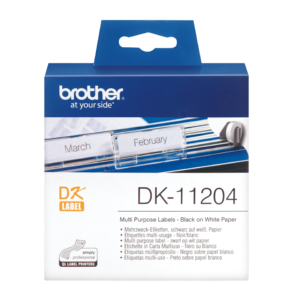 Etykieta DK-11204 ; DK11204 (17 x 54mm)