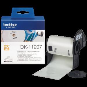 Etykieta DK-11207 ; DK11207 (⌀ 58mm)