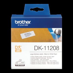 Etykieta DK-11208 ; DK11208 (38 x 90mm)