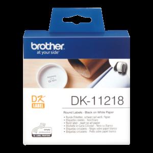 Etykieta DK-11218 ; DK11218 (Ø 24mm)