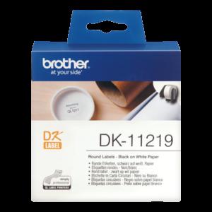 Etykieta DK-11219 ; DK11219 (Ø 12mm)