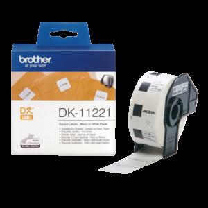Etykieta DK-11221 ; DK11221 (23 x 23mm)