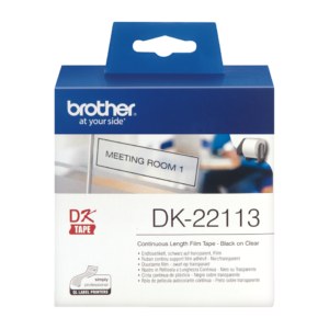 Taśma Brother DK-22113 ; DK22113 (62mm x 15,24m)