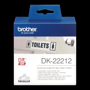 Taśma Brother DK-22212 ; DK 22212 (62mm x 15,24m)