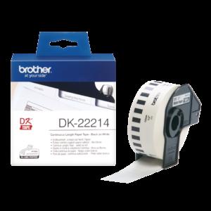 Taśma Brother DK-22214 ; DK22214 (12mm x 30,48m)
