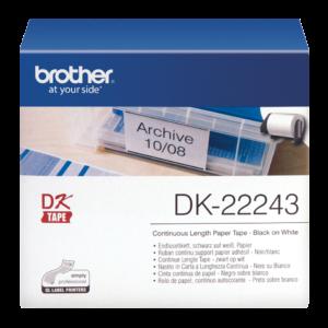 Taśma Brother DK-22243 ; DK22243 (102mm x 30,48m)