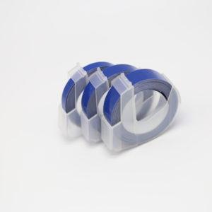 Taśma 3D niebieska 9mm