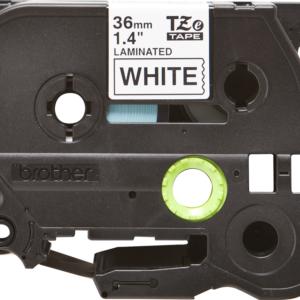 Taśma TZe-261 biała/ czarny nadruk