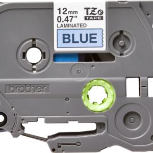 Taśma TZe-531 niebieska/ czarny nadruk