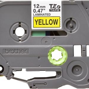 Taśma Brother TZe-631 żółta/ czarny nadruk