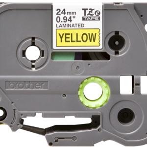 Taśma Brother TZe-651 żółta/ czarny nadruk