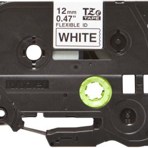 Taśma Brother TZe-FX231 biała/ czarny nadruk elastyczna