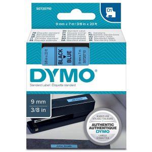 Taśma Dymo 40916 niebieska/czarny nadruk
