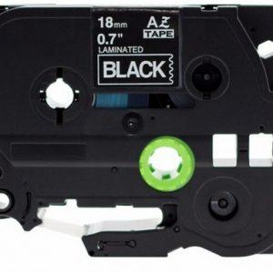 Taśma AZe-345 czarna/ biały nadruk