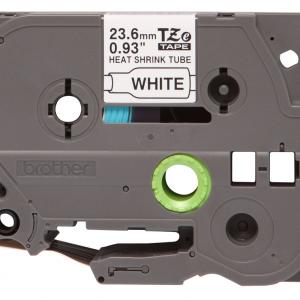 Taśma termokurczliwa HSe-251 biała/ czarny nadruk