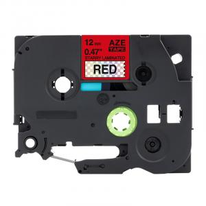Taśma AZe-431LT czerwony deco/ czarny nadruk