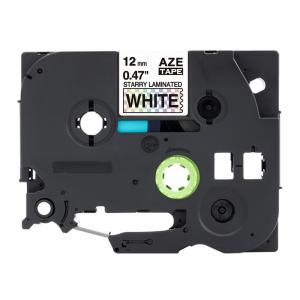 Taśma AZe-231LT biały deco/ czarny nadruk