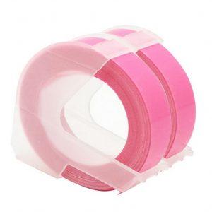 Taśma 3D fluo różowa 9mm