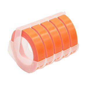 Taśma 3D fluo pomarańczowa 9mm