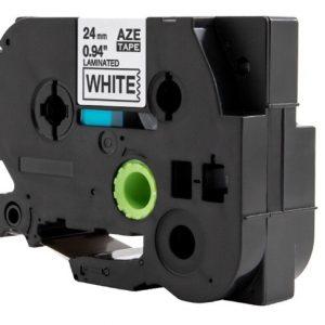 Taśma AZe-FX211 zamiennik Brother TZe-FX211 TZFX211 biała/ czarny nadruk elastyczna