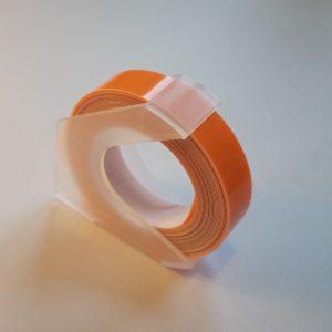Taśma 3D pastel oranż 9mm
