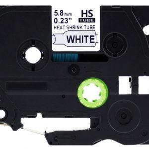 Taśma termokurczliwa AHSe-211 zamiennik Brother HSe-211 HS211 biały/ czarny nadruk