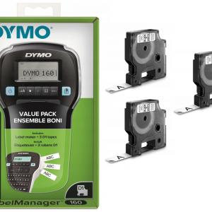 Drukarka Dymo LabelManager LM160 + 3 taśmy Dymo